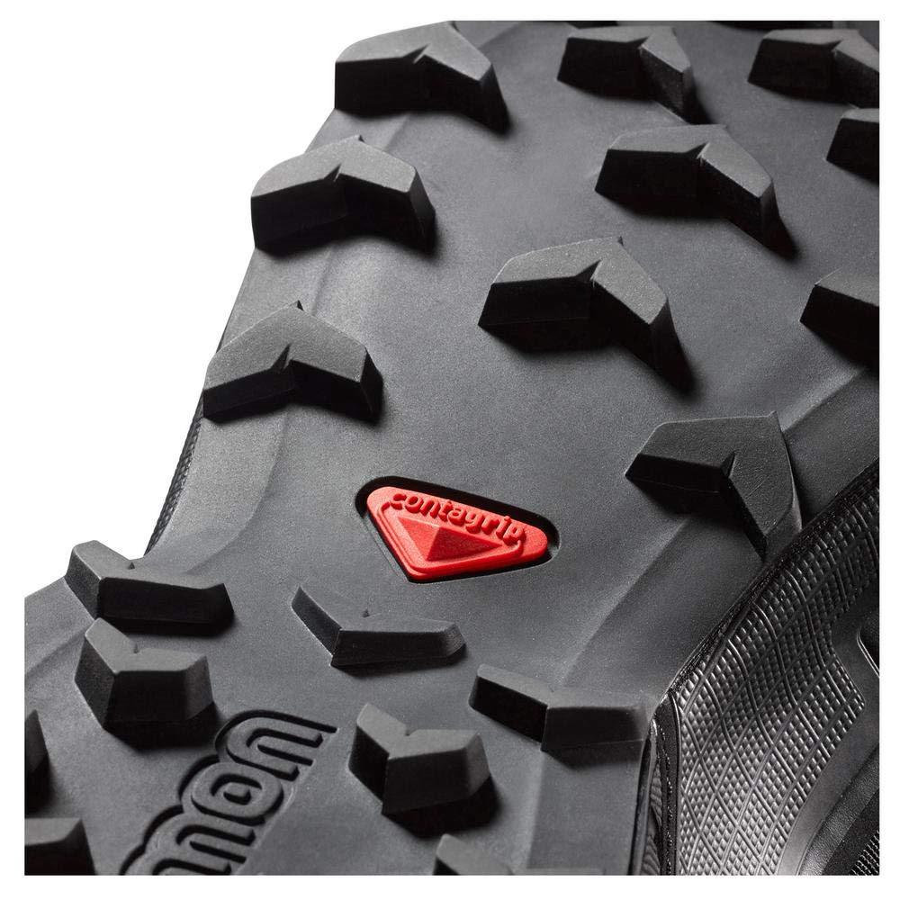 The oversized chevron pattern on the Salomon Speedcross series provide outstanding mud grip